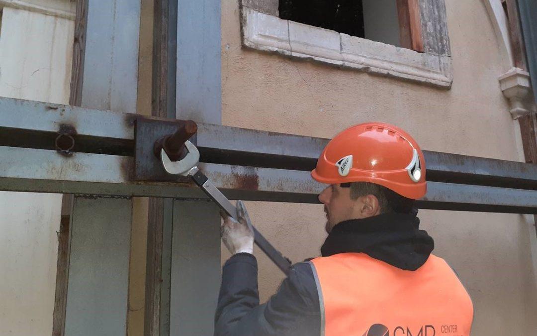 Controllo strutturale messa in sicurezza di Palazzo Carli Benedetti a L'Aquila